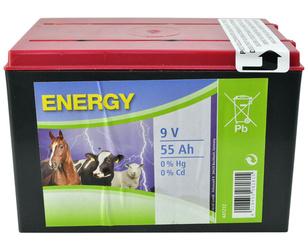 Bateria ENERGY 9V 55Ah do Elektryzatorów