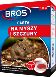 Bros pasta trutka miękka na myszy szczury 150g
