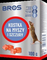 KOSTKA na myszy szczury 100g Bros