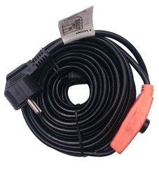 Kabel grzewczy przewód grzejny 8m z termostatem KERBL