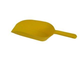 Łopatka pełna  do paszy, karmy 0,5kg MIX (żółta/czerwona/zielona)