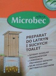 Microbek preparat do latryn i toalet suchych 4x30g