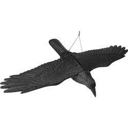 Odstraszacz ptaków KRUK z rospostartymi skrzydłami