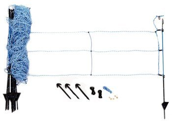 Siatka elektryczna PROFI na dziki dł.50m h.65cm niebieska