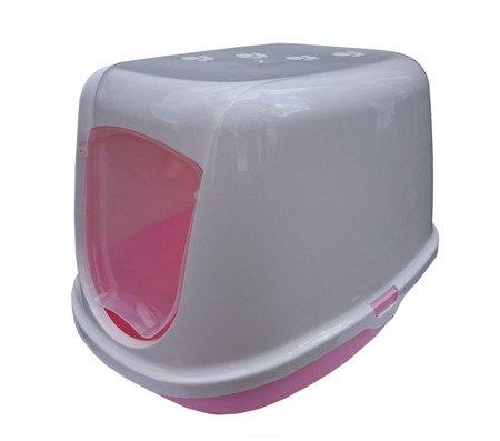 Kuweta DUCHESSE biało - różowa