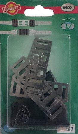 Łącznik do taśmy 10mm - 12,5mm LITZCLIP  5szt komplet