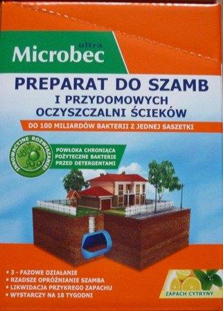 Microbec Ultra saszetka 25g - cytrynowy 18 saszetek ZESTAW