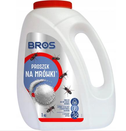 Proszek na mrówki 1kg Bros