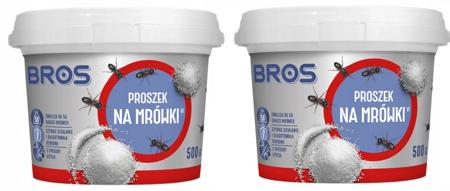 Proszek na mrówki 500g Bros 2 szt.