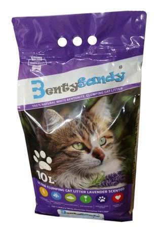 Żwirek bentonitowy BENTY SANDY Lavender 10L